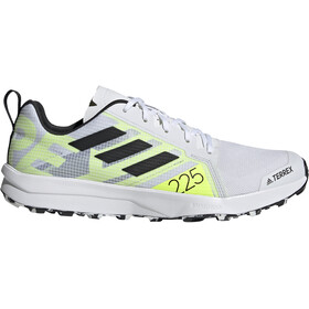 adidas TERREX Speed Flow Trail Running Shoes Men, feather white/core black/solar yellow